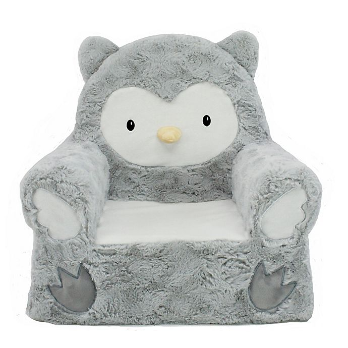Alternate image 1 for Animal Adventure® Sweet Seats™ Owl Character Chair in Grey