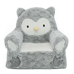 Animal Adventure® Sweet Seats™ Owl Character Chair in Grey