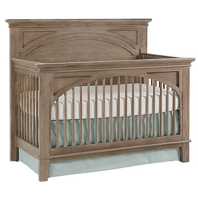 Alternate image 1 for Westwood Design Leland 4-in-1 Convertible Crib in Stonewash