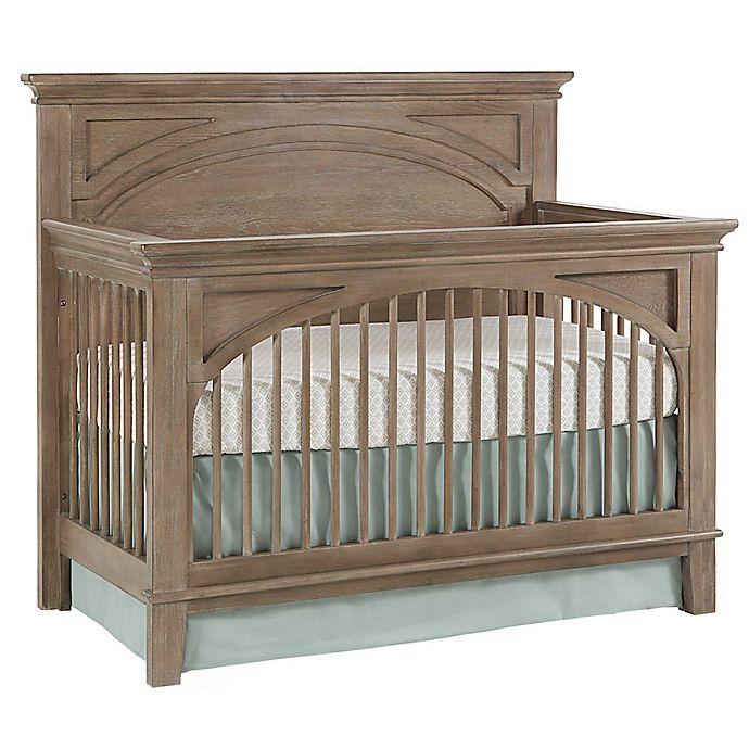 Westwood Design Leland 4 In 1 Convertible Crib In Stonewash Bed