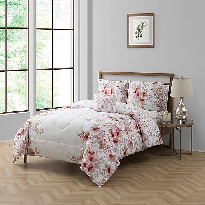 Alternate image 1 for Giselle Full 12-Piece Comforter Set in Blush