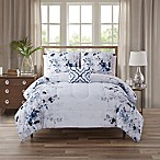 Giselle King 12-Piece Comforter Set in Blue