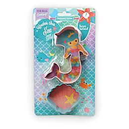 Handstand Kitchen Mermaid Cookie Cutters (Set of 2)