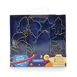 Handstand Spaceship & Space Cookie Cutters (Set of 10)