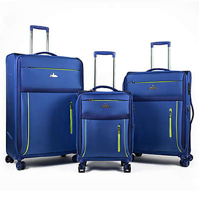 American Green Travel Soteria 3-Piece Spinner Luggage Set