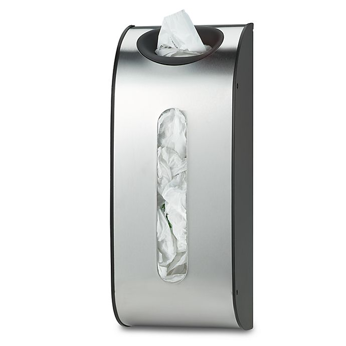 Alternate image 1 for simplehuman® Stainless Steel Bag Holder
