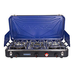 Stansport® Outfitter 212-300-50 3-Burner Propane Outdoor Stove in Blue