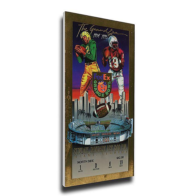 Alternate image 1 for NCAA University Of Nebraska Sports 12-Inch x 32-Inch Framed Wall Art