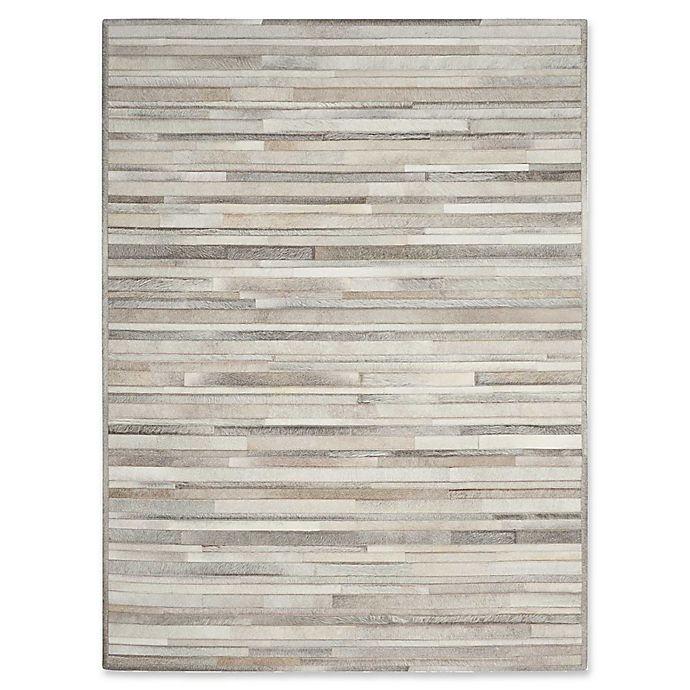 Alternate image 1 for Calvin Klein™ Ck Prairie Silver Hand-Knotted Rug