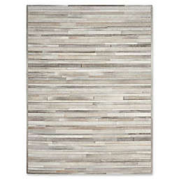Calvin Klein™ Prairie Hand-Knotted Area Rug in Silver