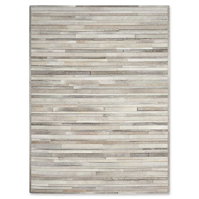 Alternate image 1 for Calvin Klein™ Ck Prairie Silver 8' X 10' Hand-Knotted Area Rug in Silver