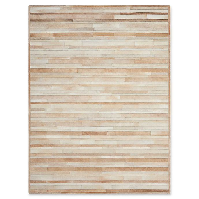 Alternate image 1 for Calvin Klein™ Prairie Hand-Knotted Area Rug in Beige