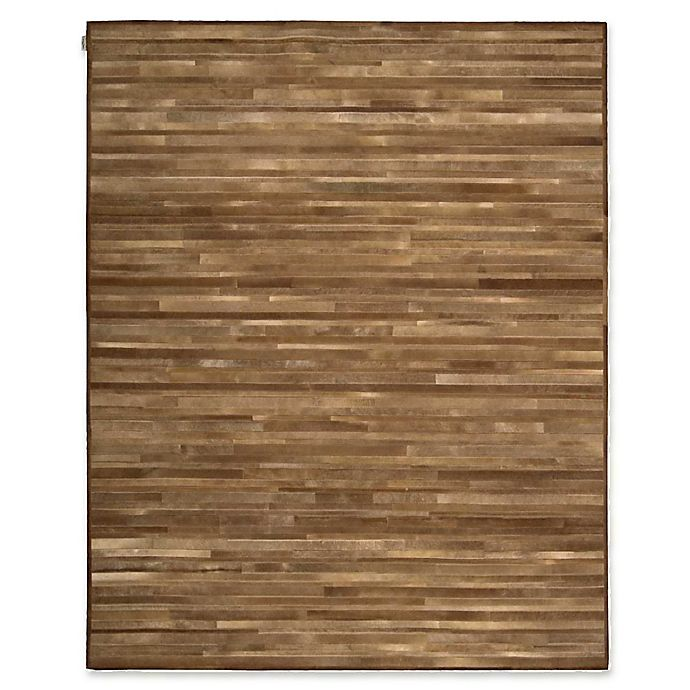 Alternate image 1 for Calvin Klein™ Ck Prairie Amber 8' X 10' Hand-Knotted Area Rug in Amber