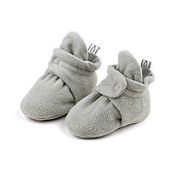 The Peanutshell® Fleece Booties in Grey