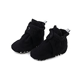 The Peanutshell® Fleece Booties in Black