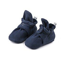 The Peanutshell® Fleece Booties in Navy