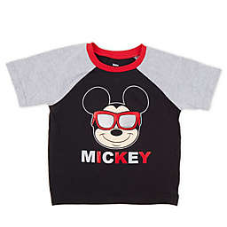 Disney® Sunglasses Mickey T-Shirt in Black