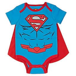 Warner Brothers® Superman® Caped Bodysuit in Blue