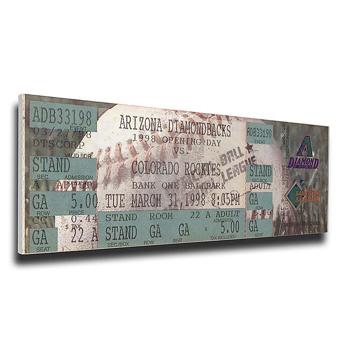 Alternate image 1 for MLB Arizona Diamondbacks Sports 11-Inch x 33-Inch Framed Wall Art