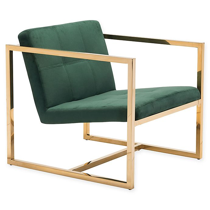 Alternate image 1 for Zuo® Alain Arm Chair in Green