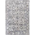"KAS Bennett Tapestry 5'3"" x 7'7"" Area Rug in Ivory"