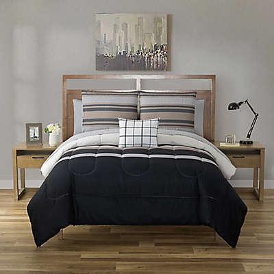 Dylan 12-Piece Reversible Comforter Set