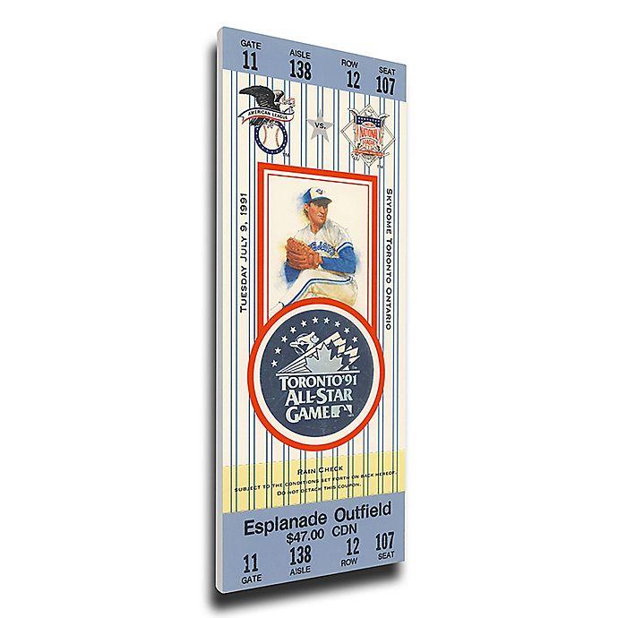 Alternate image 1 for MLB Toronto Blue Jays Sports 14-Inch x 33-Inch Framed Wall Art