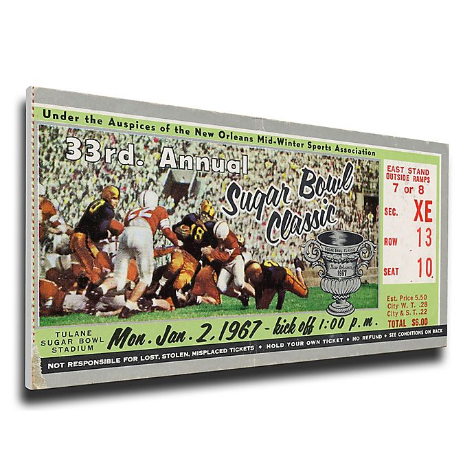 Alternate image 1 for NCAA University Of Alabama Sports 15-Inch x 29-Inch Framed Wall Art