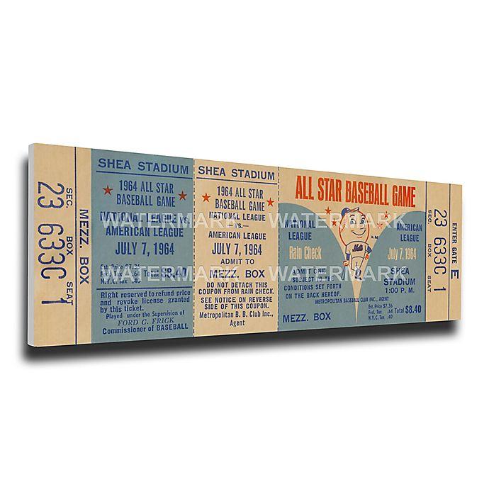 Alternate image 1 for MLB New York Mets Sports 15-Inch x 29-Inch Framed Wall Art