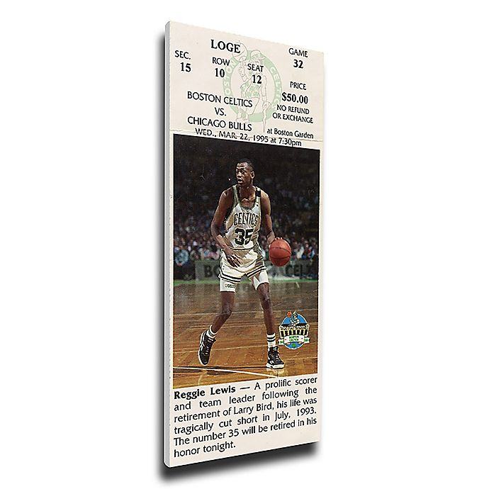 Alternate image 1 for NBA Boston Celtics Sports 12-Inch x 32-Inch Framed Wall Art