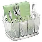 Rain 5-Compartment Clear Cutlery Caddy