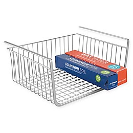 iDesign® York Lyra Under Shelf Basket