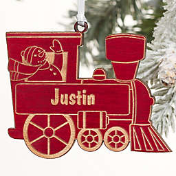 Holiday Train Personalized Ornament