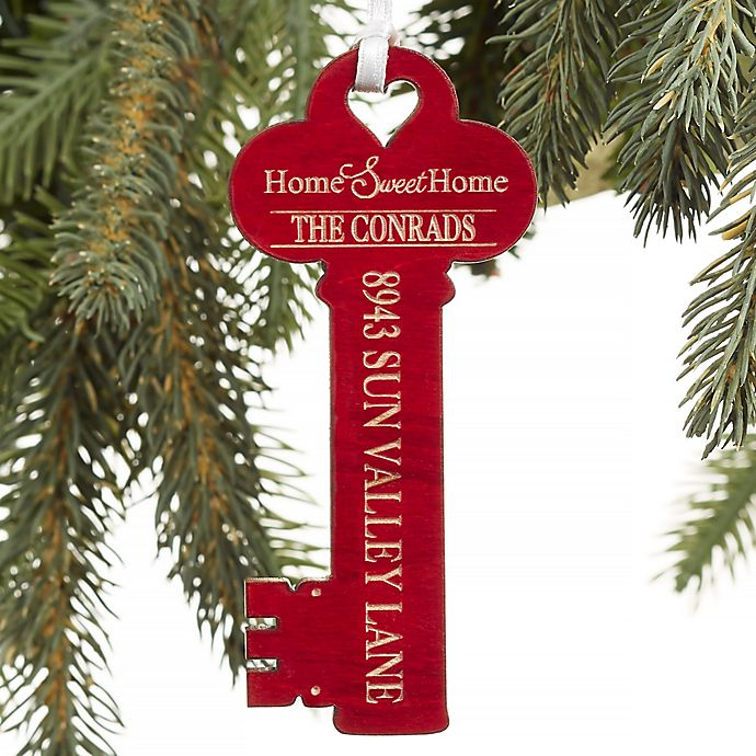 New Home Personalized Key Ornament Bed Bath Amp Beyond