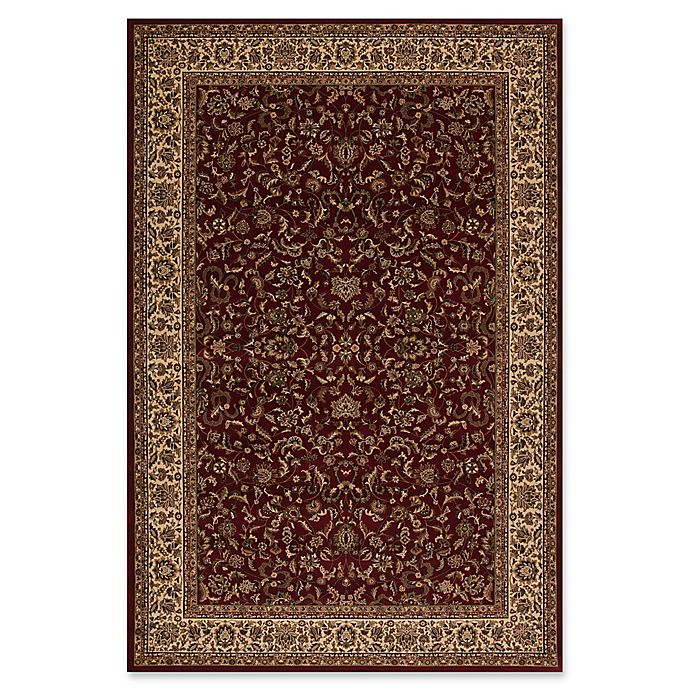 Alternate image 1 for Concord Global Trading Kashan 2'7 x 5' Area Rug in Red