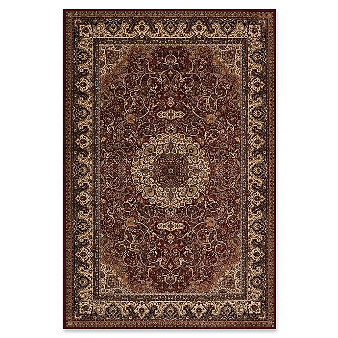 Alternate image 1 for Concord Global Isfahan 2'7 x 4' Accent Rug in Red