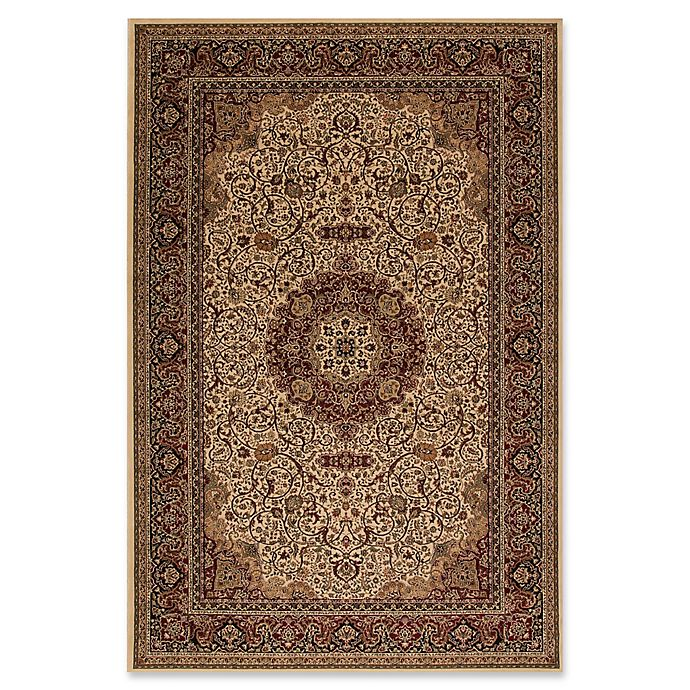 Alternate image 1 for Concord Global Isfahan 2'7 x 5' Accent Rug in Ivory