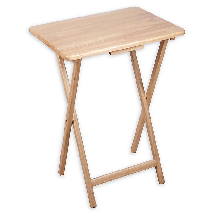 Alternate image 1 for Single Stand Snack Table