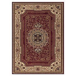Concord Global Trading Chateau 2'7 x 4'1 Accent Rug in Red