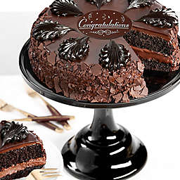 Chocolate Mousse Torte Seasons Congratulations Cake