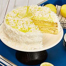 Lemon Coconut Happy Birthday Cake