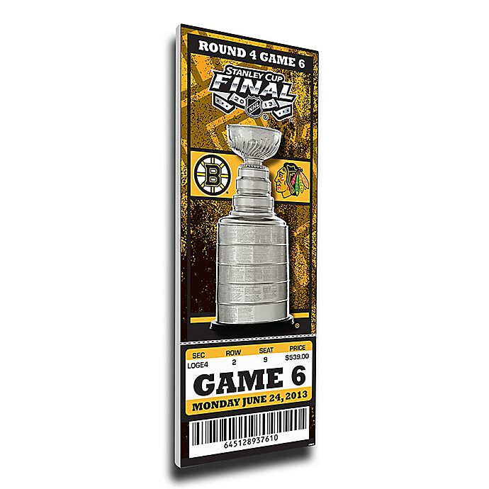 Alternate image 1 for NHL Boston Bruins Sports 12-Inch x 32-Inch Framed Wall Art