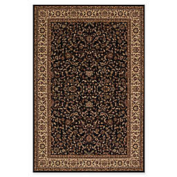 Concord Global Trading Jewel Kashan 7-Foot 10-Inch x 11-Foot 2-Inch Rug in Black