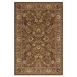 Concord Global Mahal Green 7-Foot 10-Inch x 11-Foot 2-Inch Rug