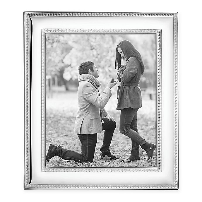 Alternate image 1 for Reed & Barton Florence™ 8-Inch x 10-Inch Picture Frame