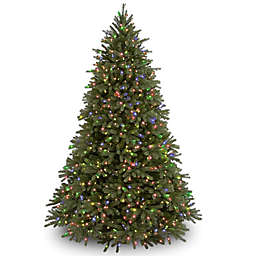 National Tree Company Pre-Lit Jersey Fraser Fir Christmas Tree with Multicolor Lights