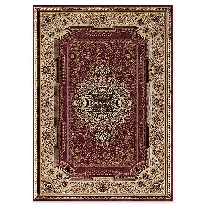 Alternate image 1 for Concord Global Chateau 7-Foot 10-Inch x 10-Foot 10-Inch Rug in Red