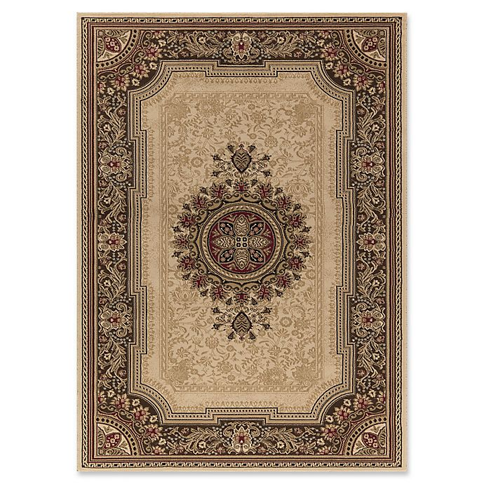 Alternate image 1 for Concord Global Chateau 7-Foot 10-Inch x 10-Foot 10-Inch Rug in Ivory