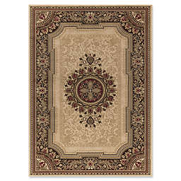 Concord Global Chateau 7-Foot 10-Inch x 10-Foot 10-Inch Rug in Ivory