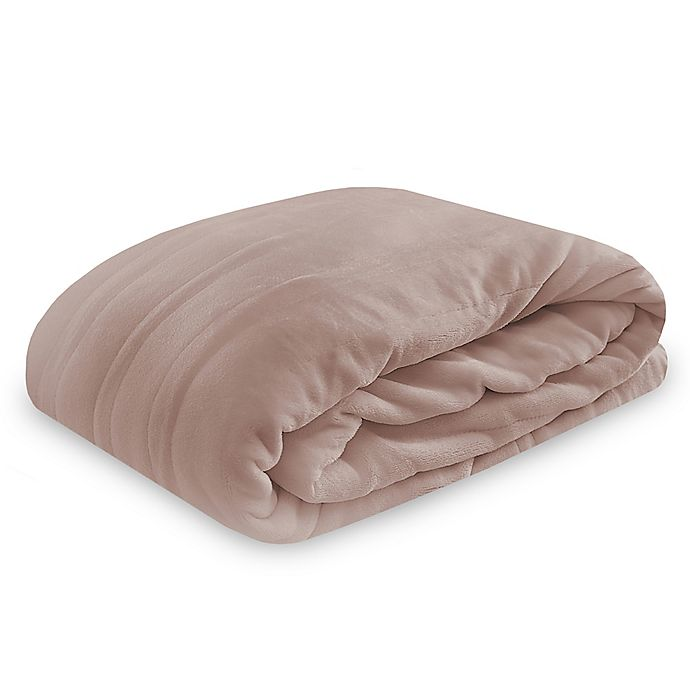 Alternate image 1 for Therapedic® Twin Smart Warming Wireless Remote Blanket in Taupe